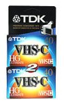 TDK 2-Pack 40-Minute VHS-C Tapes