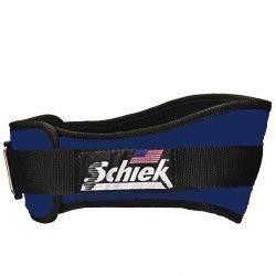 Schiek Original 4 3/4 inch Nylon Support Belt Lt Navy Extra Large