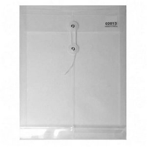 Sparco String & Button Poly Hide Envelope Letter - 8.50