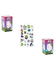 Price comparison product image Hatchimals JUMBO bath bomb surprise set of 2 - Magic Mango and Chirpin cherry