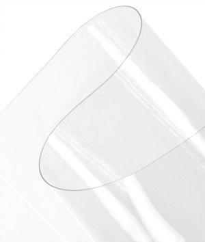 40 Gauge Clear Vinyl Fabric By The Yard by Plastex Fabrics