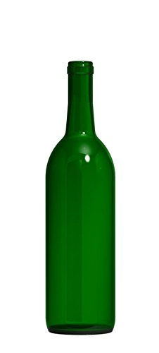 (Green Wine Bottles, 750 ml Capacity (Pack of 12))