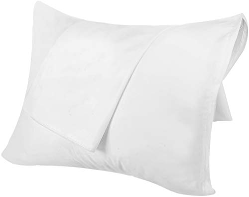 Utopia Bedding Zippered Pillowcases – Pack of 2 – Soft Brushed Microfiber Fabric – Wrinkle, Shrinkage and Fade Resistant…