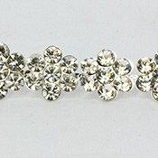 Crystal Silver Rhinestone Chain Style 1073 - 1 Yard -1 Roll