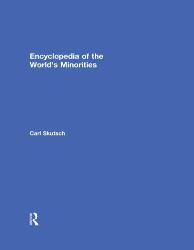 Download Encyclopedia of the World's Minorities Pdf
