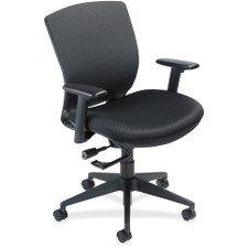 (Nightingale VXO Mid-Back Task Chair, Black)