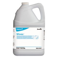 Diversey Wiwax Cleaning & Maintenance Emulsion, Liquid, 1 gal Bottle, 4/Carton by Diversey