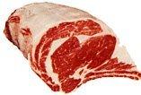 USDA Prime 21 days Aged Beef Rib Eye Roast Oven Ready Bone in 6 lb