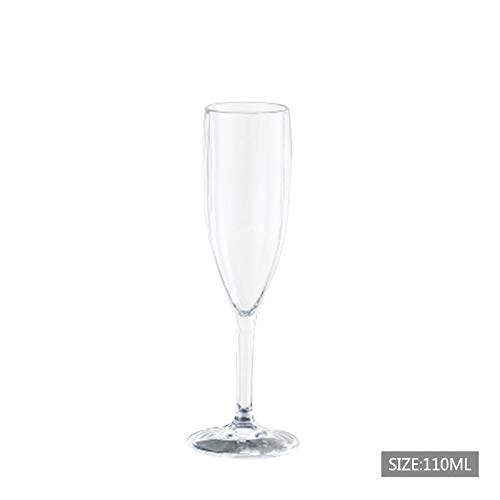 Linker Wish Plastic Champagne Flutes Champagne Flute Unbreakable Flutes Glasses Cocktail Beer Wine Cup Party Supplies Dinner Wedding Accessories Bar Tool