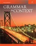 Read Online Grammar in Context 2 5th (fifth) edition Text Only PDF