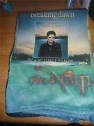 Twilight Breaking Dawn Part 2 Fleece Throw - Edward