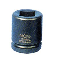 KTI35027 Square x 1-1//2in Hex Budd Wheel Impact Socket 1in Dr x 13//16in K-Tool International