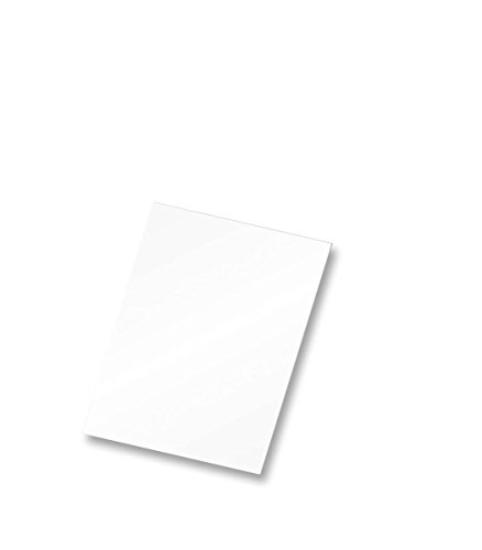 Flipside Products Foam Board, 8'' x 10'', White, Pack of 25 (10800) by Flipside Products