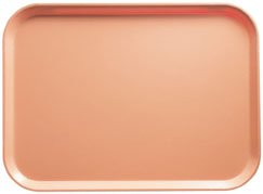 Dark Peach Rectangular Camtray Fiberglass (Cambro 1014117 Camtray 10-5/8