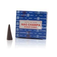 (Beadscape ~ A Bit of Deja Vu The Original Satya Sai Baba Nag Champa Incense (12 Cone Box))