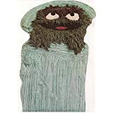 Wilton Oscar the Grouch in Trash Can Cake Pan (502-7512, 1977) Jim Henson Sesame St. -