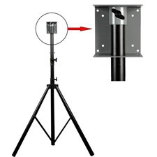 Delvcam DELV-LCD1 Combo Stand & LCD VESA 75/100 Mount Without Monitor