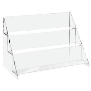 amazon com countertop 3 tier retail display shelf 15 x 7 x 10 rh amazon com Kitchen Countertop Display Shelves Shelves Wooden Countertop