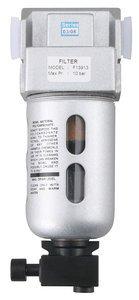 1/8'' NPT Polycarbonate Bowl Sintered Bronze Miniature Air Filter