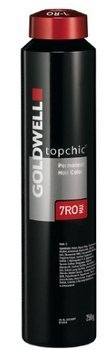 Goldwell Topchic Hair Color Coloration (Tube) 7RR MAX Luscious Red (7rr Goldwell)