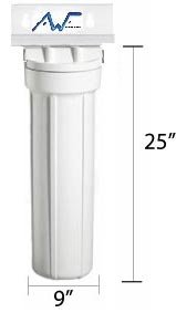 Home Master - Whole House Water Filter - Single Stage Carbon Filter