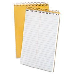 Tops Products 25472 Spiral Steno 6 x 9 Book, White - 15 lbs.