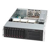 SUPERMICRO CSE-835TQ-R800B-DIST SUPERMICRO 3U DP DUAL 800W REDUNDANT 8 SATA SAS HOT SWAP HDD REV (CSE835TQR800BDIST)