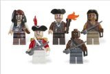 Lego Pirates Of The Caribbean Mini Figure 5 Pack