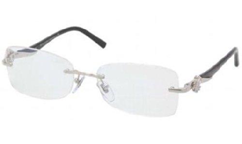 Bvlgari BV2124K Eyeglasses (394) Silver Plated, 53 - Bvlgari Men Eyeglasses