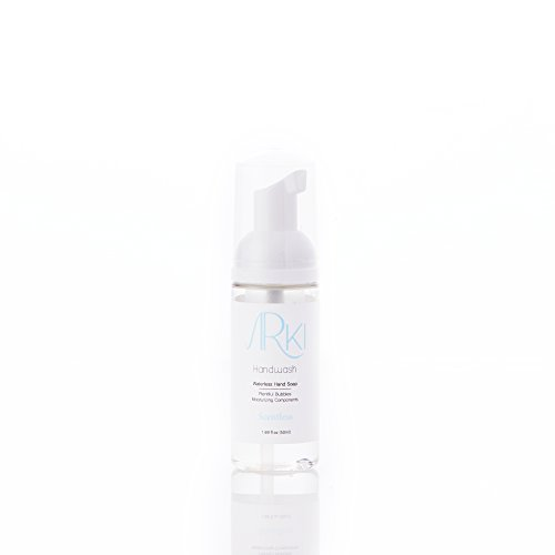 ArKi Premium Foaming Hand Sanitizer with Advanced Moisturizers - Scentless - 1.69 fl.oz - 50ml Mrs Meyers Hand Lotion Geranium