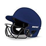 Marucci mbhsb Fastpitch Softball Casco de bateo, Azul Marino, Medium