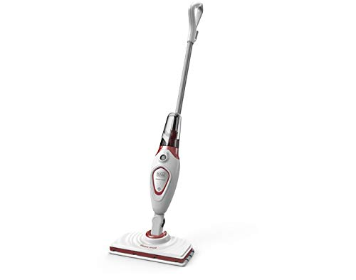 - BLACK+DECKER FSM1605R Stick Handy Electric Steam Mop Vacuum Cleaner, 220V (Not for USA)