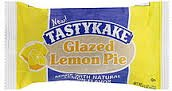 Tastykake Glazed Pies - Pack of 4 (Lemon)