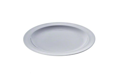 Thunder Group NS110W Dinner Plate, 10-1/4-Inch, White, Set of 12 by Thunder Group