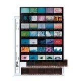 Archival 35mm Size Negative Pages Holds Seven Strips of Five Frames with Contact Sheet, Pack of 25 by Print File