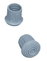 Duro Med Industries commode/walker replacement tips - 4 Each