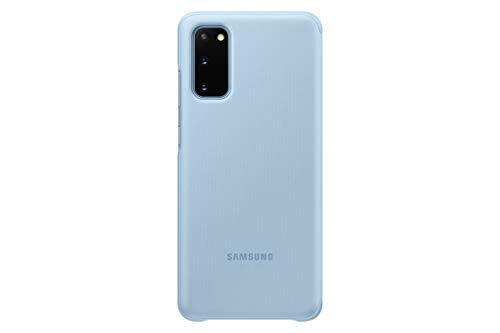SAMSUNG Galaxy S20 Case, Official S-View Flip Cover (Blue)