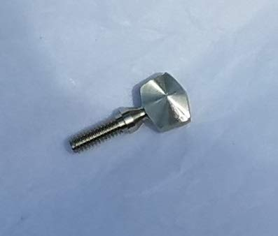 Sousaphone Mouthpipe Neck Tension Screw - Solid Nickel Silver