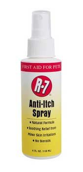 R - 7 Natural Remedies Anti Itch Spray 4oz