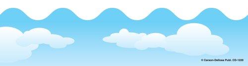 Flip Flop Border - Carson Dellosa Clouds Borders (1220)