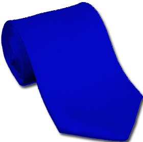 royal blue by neckties solids royal blue polyester ties at amazon
