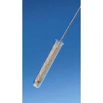 Cole-Parmer AO-84551-50 710126 Nylon Radial Tube Brush 8 Handle 3L x 0.5 Dia Brush; 12//Pk Pack of 12