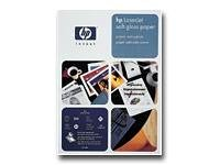 HP - Satin glossy paper - glossy - A4 (8.25 in x 11.7 in) - 120 g/m2 - 200 sheet(s) (Hp A4 Printer Paper)