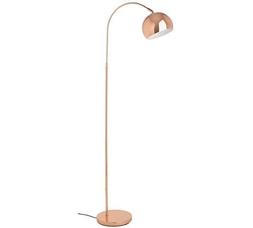 Adjustable Curva Floor Lamp Copper Amazoncouk Lighting
