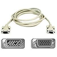 Belkin VGA Monitor Extension HDDB15M/HDDB15F with Thumbscrews - 10ft