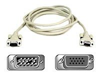 Belkin Display Cable 15 Pin - Belkin 6ft HDdb15M/HDdb15F VGA Monitor Extension Cable with Thumbscrews
