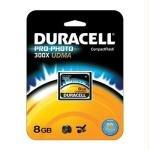 Dane Drive Elec Usb 4gb - Duracell High Speed 8 GB 300X USB 2.0 Compact Flash Card Card UDMA DU-CF30-08G-C