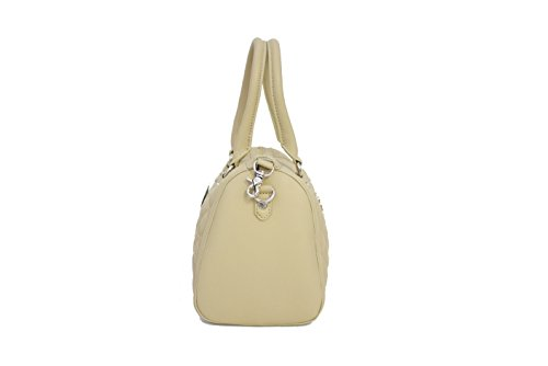 Simil Naturale Bauletto Pelle Trapuntata Moschino beige Jc4010 Color Love t7txT14