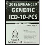 Paperback 2015 Enhanced Generic ICD - 10 - CM Procedures Tables & Index Book