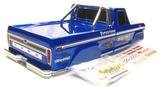 TRAXXAS BIGFOOT ORIGINAL BODY, THIS IS ONE OF THE BEST LOOKING TRAXXAS BODIES EVERY, ALSO FITS THE 2WD STAMPEDE.